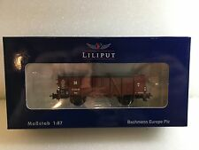 Liliput L235014 Open Goods Wagon DR Epoche III H0 New T48 Post