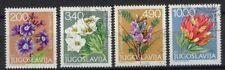 Yugoslavia 1979 Alpine Flowers Used Set