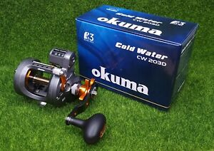 Okuma Cold Water Line Counter 5.1:1 Conventional Reel, Right Hand - CW-203D