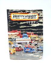 Vintage 1987 Matchbox Collectors Catalog
