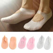 1Pair Silicone Moisturizing Gel Heel Socks Cracked Foot Skin Care Protector