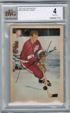 "1953 54 Parkhurst #50 Gordie Howe ""Mr. Hockey"" BVG 4 Detroit Red Wings bv 800$"