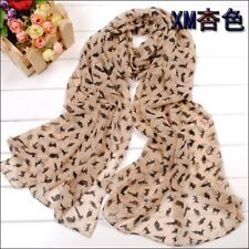 Ladies Fashion Soft Cute Cat Scarf Shawl Xmas Gift For Her
