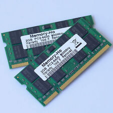 4GB 2x2GB PC2-6400 DDR2-800 800Mhz 200pin DDR2 Laptop Memory SODIMM Notebook RAM