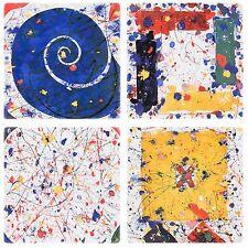 SAM FRANCIS Limited Edition Ceramic Plates, original