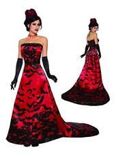 Forum 78252 Vampire Queen Costume Dress Standard Red/black