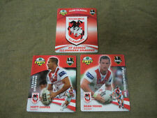 2007 RUGBY LEAGUE CLASSIC TAZO  TEAM SET - ST. GEORGE