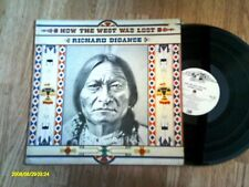 RICHARD DIGANCE HOW THE WEST WAS LOST. RARE LP 1975 EX