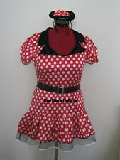 Sexy Minnie Mouse Fancy Dress Ladies Woman Costume Outfit Hen night Size 16-18