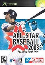 All-Star Baseball 2003 (Microsoft Xbox, 2002)M