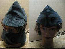 1 Swiss military hat cap plus winter mask all in 1! Great cond! 58cm.