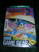 1992 SEGA GAME SONIC 2 ( THE HEDGEHOG) NEW IN PACKAGE
