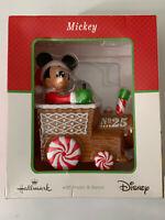 Hallmark Disney Christmas Express ~ Mickey with Music & Dance