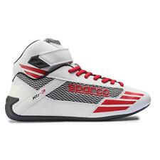 Scarpe Kart SPARCO Mercury Kb-3 bianche Karting Shoes Boots Chaussures 45