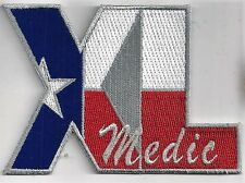USAF 47th MEDICAL GROUP '?'  PATCH    XL MEDIC                        FULL COLOR