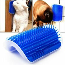Pet cat Self Groomer Grooming Tool Hair Removal Brush Comb with catnip for Cats
