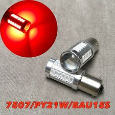 LED REAR TURN SIGNAL Light SMD Bulb RED BAU15S 7507 PY21W  For JDM