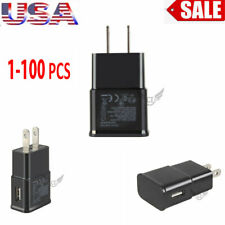 Lot 1-100 Plug Usb Power Adapter Ac Home Wall Charger Fr Andriod Samsung Lg Usa