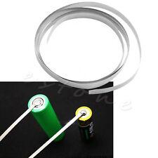 5x 8mm x 0.15 Ni Plated Nickel Strip Tape For Li 18650 Battery Spot Welding