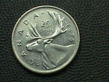 CANADA 25 Cents 1976