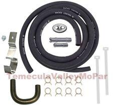 15-pc MoPar Script Heater Hose - Bracket - Fitting Set for 1970 B-Body