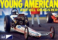 MPC Carl Casper Young American Top Fuel F/E Dragster model kit 1/25