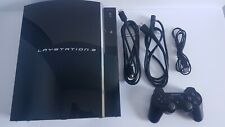 Sony PlayStation 3 PS3 60GB Game Console CECHL01 Tested Fat 3 Memory Slot Rare!