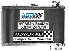 NISSAN SKYLINE R32 1989-1994 2.0ltr & 2.6ltr MANUAL KOYO K-SPORT RACING RADIATOR