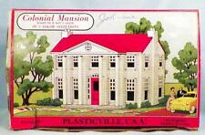 Plasticville Colonial Mansion Kit 1703 129 Vintage O Scale 1950s Complete