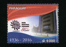 Paraguay 2016 Industrie-Union Wirtschaft Economics Architektur MNH