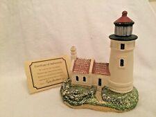 Harbour Lights 107 Umpqua River, Or Lighthouse 1991 Coa Box