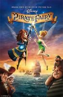 DISNEY TINKERBELL PIRATE FAIRY MOVIE POSTER NEW 22X34 FREE SHIPPING