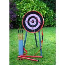 NUOVO GIGANTE Bow & Arrow Tiro Con L'arco Set per bambini e obiettivo da Giardino Gioco Divertente