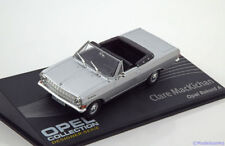 MAG HH122, OPEL COLLECTION, OPEL REKORD A CABRIOLET, SILVER, 1:43 SCALE