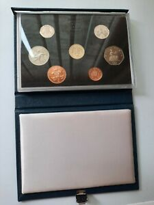 ROYAL MINT UK PROOF COIN SET 1987 - please see description