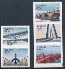 [317652] Sweden 2016 Bridges good set of stamps very fine Adhesive