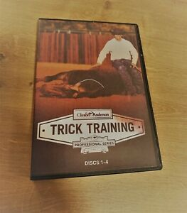 BOXED Horse Riding Course Trick Training Video Horse Training SET 4 DVD's