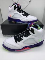 Nike Air Jordan 5 Retro Bel Air White Size 13 Men DB3335 100
