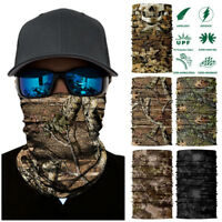Tactical Camouflage Face Mask Headwear Sun Mask Sports  Outdoor Hunting Scarf