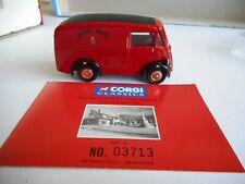 Corgi Classics 06203 Morris J Van Royal Mail 1:43 Ltd Ed Cer+box