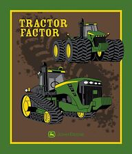 John Deere Tractor Factor Panel 100% cotton fabric panel
