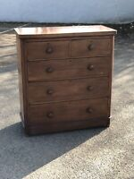 Victorian Mahogany Chest Of Drawers..
