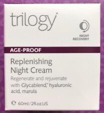 Trilogy Replenishing Night Cream Exp 10/2021 Regenerate & Rejuvenate Hyaluronic