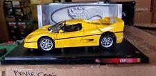 1/18 Hot Wheels Ferrari F50 Yellow