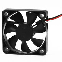 5X(50mm x 50mm x 10mm 5010 DC 12V 0.1A 2Pin Brushless Cooling Fan DT