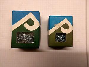Picardy Twin Thread Cross Head Screws 2 boxes 3.0x25 & 3.0x15. 200 per box zinc