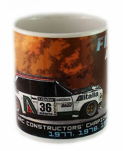Fiat Abarth 131 Rally Car Mug - the perfect gift for fans of motor sport
