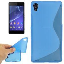 TPU-Case/Schutz-Hülle zu Sony Xperia Z2 - S-LINE Blau Handy-Hülle