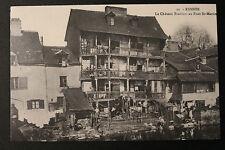 Carte postale CP animée RENNES - Le Château Branlant au Pont St-Martin