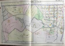 1916 A.H. Mueller Montgomery County, Pa, Cheltenham Twp., Copy Plat Atlas Map